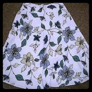 Emma James Flowered Skirt